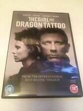 The Girl With The Dragon Tattoo (DVD, 2012) daniel craig, region 2 uk dvd