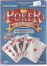 Poker Hold'Em 3 Professionisti Marco Baldini Howard Lederer Dvd Sigillato