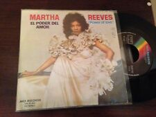 "MARTHA REEVES SPANISH 7"" SINGLE SPAIN - POWER OF LOVE - SOUL"