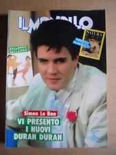 IL MONELLO n°36 1986 Simon Le Bon Duran Duran Paolo Villaggio [G425]