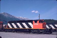 CANADIAN NATIONAL RAILROAD CN CNR SD40-2W 5299 KODACHROME ORIGINAL SLIDE