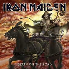 IRON MAIDEN 'DEATH ON THE ROAD (LIVE)' 2 LP VINYL NEU