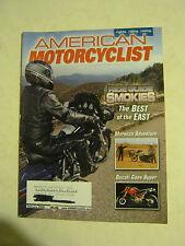 February 2006 American Motorcyclist Magazine, Ride Guide Smokies (BD-31)