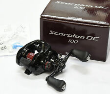 2017 NEW Shimano SCORPION DC 100 (RIGHT HANDLE) Bait Casting Reel