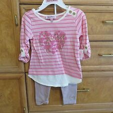 toddler girls Juicy Couture set leggings with top size 2T brand new NWT $68.00