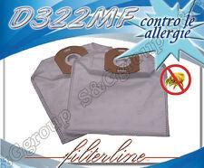 D322MF 5 sacchetti filtro microfibra x De Longhi colombina XLF1600PE