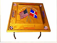 Dominican Republic & USA Domino Table