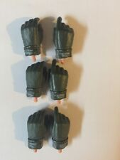 BBI 1/6 Lot Of 3 Pairs Nomex Gloves (OD)