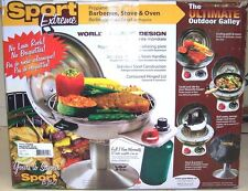 Sport Extreme Deluxe Propane Stainless Steel BBQ Grill Marine RV Camping Victory