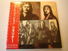 "Foreigner ""double vision"" le Japon MINI LP CD"