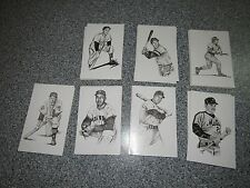 LOT OF 116 TED WILLIAMS 1989 THUMPER POST CARDS ROSE RIZZUTO SNIDER KELL IRVIN
