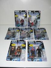 Playmates Toys Star Trek Deep Space Nine-TNG Lot of 7 Action Figures 1996,1997