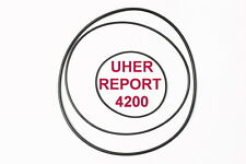 SET BELTS UHER REPORT 4200 REEL TO REEL EXTRA STRONG NEW FACTORY RIEMEN CINGHIE