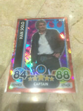 STAR WARS Force Awakens - Force Attax Extra Trading Card #100 Han Solo