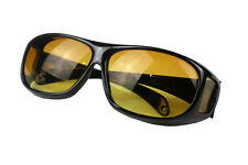 cool HD Night Vision Unisex Driving Sunglasses Nice Over Wrap Around Glasses