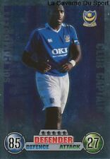 SOL CAMPBELL # ENGLAND CLUB CAPTAIN PORTSMOUTH.FC CARD PREMIER LEAGUE 2008 TOPPS