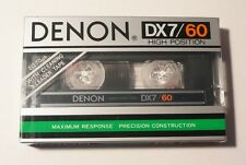 DENON DX7 60 NEW Blank Audio Cassette Tape MADE IN JAPAN - SEALED