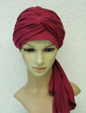 Full Turban hat, volume turban , chemo head wear, chemo head covering,  turban