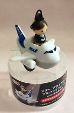ANA Airplane and Flight Attendant Pull Back Car Toy - Dydo Japan
