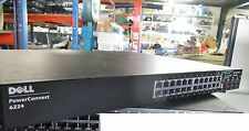 Dell PowerConnect 6224 24x GBE GBIT 10/100/1000 Ports Gigabit Network Switch
