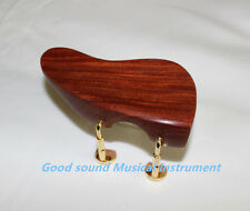 1PCS NEW Natural rosewood VIOLIN CHINREST Ear shape 4/4 chin rest Violin Parts