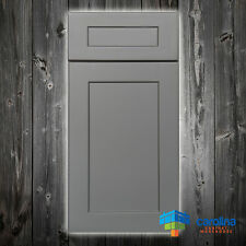 Solid Wood RTA Cabinet Sample Door, Wood Kitchen Cabinets, Color: Shaker Oyster