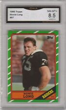 HOWIE LONG -- 1986 TOPPS -- #67 -- GRADED NM-MT+ 8.5