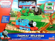 Thomas & Friends Trackmaster Thomas Wild Ride Motorised Train Set - 3-4 Years