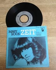 45 tours Mary Roos Zeit version allemande de Words de FR David  1982 EXC