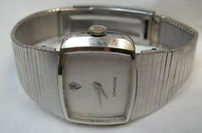 Longines Mans Diamond Dial Wrist Watch