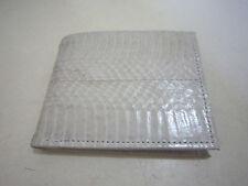 Handmade Men Bifold wallet real genuine snake skin tanned glossy Coinholder