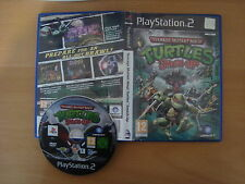TEENAGE MUTANT NINJA TURTLES SMASH-UP PLAYSTATION 2-PAL /no manual