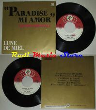 LP 45 7'' LUNE DE MIEL Paradise mi amor 1985 italy BABY RECORDS 50343 cd mc dvd