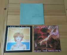 "New Wave Job Lot 3x UK 7"" Mobiles Berlin Toyah Want Free The Waitresses Weather"