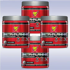 BSN BETA-ALANINE (4-PACK: 75 SVGS / 300 G EACH) unflavored pre-workout carnosyn