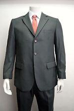 Men's Charcoal Gray 3 Button Wool Blend Dress Suit Size 54R NEW Suit