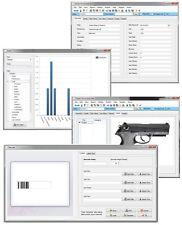 Gun Rifle Firearm Ammunition Weapon Locker Inventory Serial # Tracking Program