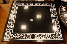 MARBLE DINING COFFEE SIDE CORNER CENTRE TABLE TOP 2'x2' MOSAIC WORK