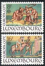 Luxembourg 1983 Europa/Paintings/Codex/Samaritan/Parables/Art/Book 2v set n43179