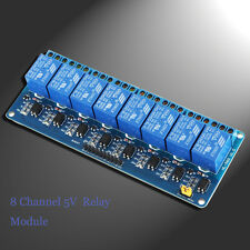 UK stock 8 Channel 5V Relay Module Board Shield For PIC AVR DSP ARM MCU Arduino