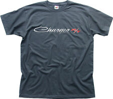 Dodge Charger R/T car charcoal grey printed cotton t-shirt HG0662