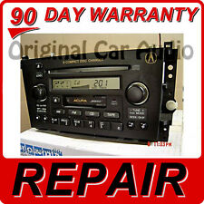 REPAIR ONLY Acura TL CL Radio Stereo 6 Disc Changer CD Player 01 02 03