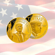 Donald Trump Commemorative Coin | MAKE AMERICA GREAT AGAIN | USA | MINT | GOLD