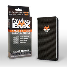 FawkesBox™ iPhone GPS Wifi Bluetooth Cell Signal Blocking Case- Spy Blocker