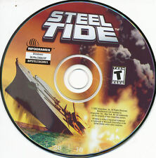 STEEL TIDE Naval Strategy Navy Combat War Simulation Game for Windows PC NEW CD