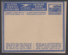 South Africa H&G I7 MNH. 1943 3p Military Air Letter Sheet, VF & scarce