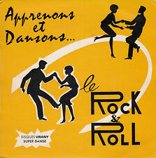 "45 T EP ""APPRENONS ET DANSONS LE ROCK AND ROLL"""