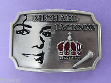 Michael Jackson King of Pop Belt Buckle