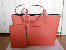 NEW Auth Marc by Marc Jacobs Metropolitote Leather Tote Shoulder Bag Handbag
