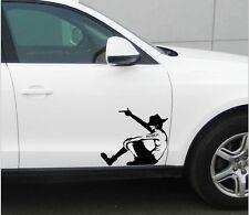 Easy Use Auto Decor cartoon one piece Vulcan car sticker rear window decal WWS